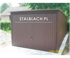 Garaż blaszany 3x5. Standardowy lub na wymiar. Wysoka jakość!