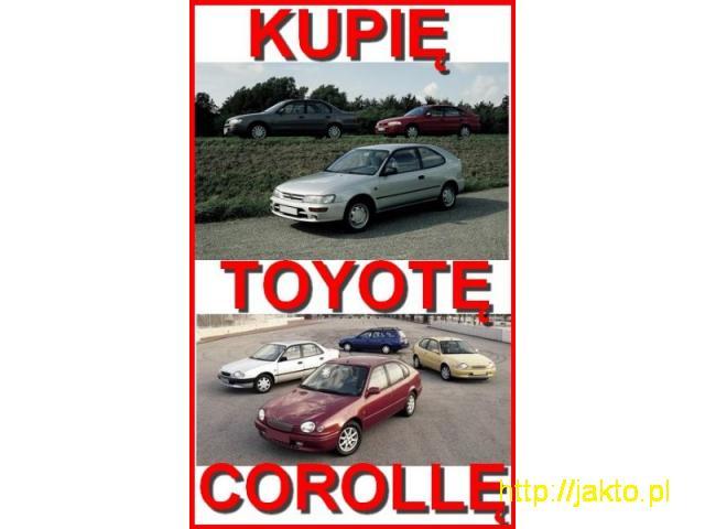 Kupiękażdą Toyotę Corollę! 533-009-672 - 1/1