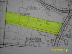 Działka budowlana z decyzją o warunkach zabudowy