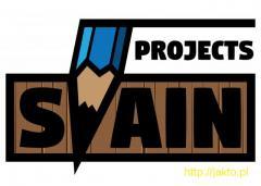 Projekty graficzne (logo, wizytówka, ulotka itp.)