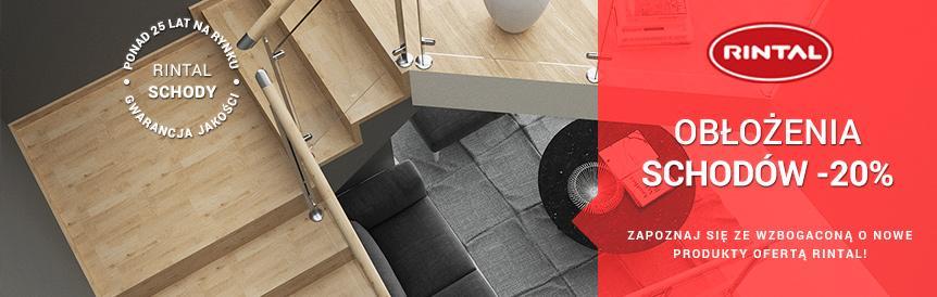 RINTAL - w marcu obicia schodów betonowych -20%