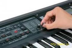 Nauka gry pianino , keyboard