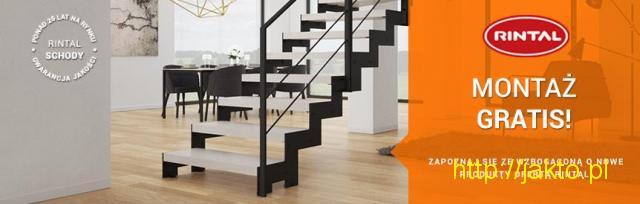 RINTAL - w czerwcu montaż schodów GRATIS!