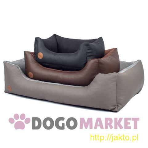 Legowisko dla psa sofa ze skaju dla małych psów rozmiar S