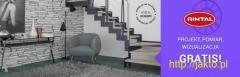 RINTAL Schody - pomiar, projekt, wizualizacja GRATIS!