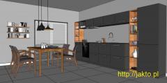 Projektowanie i aranżacja kuchni-projekt koncepcyjny. Tanio i szybko!