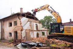 Kompleksowe wyburzenia i rozbiórki budynków!