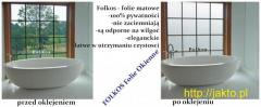 Oklejanie szyb -Folie Warszawa-Matowe, dekoracyjne, lustro weneckie, folie bezpieczne