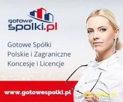 Gotowa Spółka w Bułgarii 603557777, KONCESJA OPC, w Anglii, Czechach, Rumunii, Gotowe Fundacje