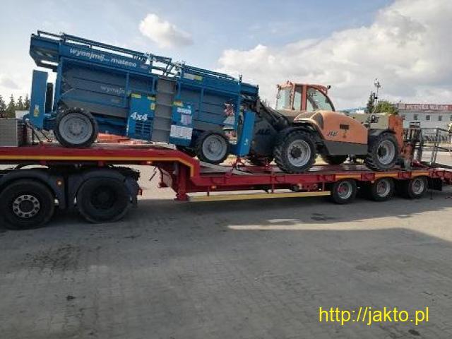 Transport Maszyn, Transport niskopodwoziowy, podczołgówa