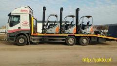 Transport Koparek / Maszyn Budowlanych