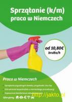 Sprzątanie (k/m) - Niemcy