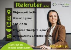 Rekruter (k/m)