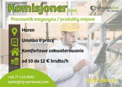 Komisjoner/Pracownik magazynu (k/m)- Niemcy