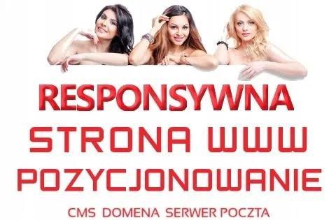 Strona internetowa -Tworzenie stron www DLA FIRM +host +domena +FB +FV