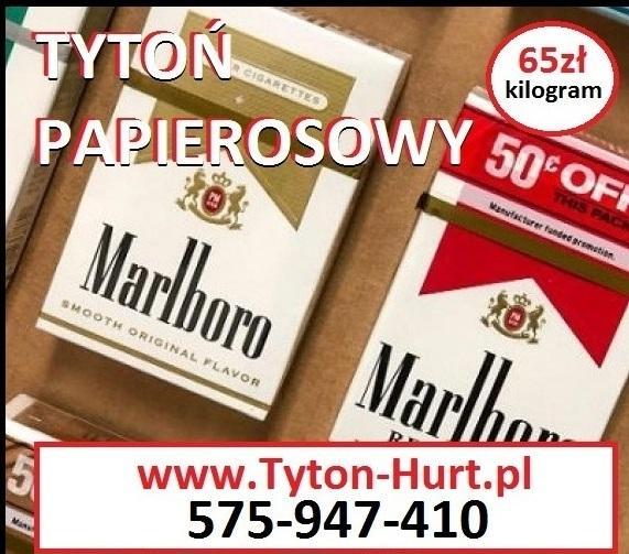 Tytoń do gilz znane marki, prosto z fabryki w cenie 65zł/kg www.Tyton-Hurt.pl