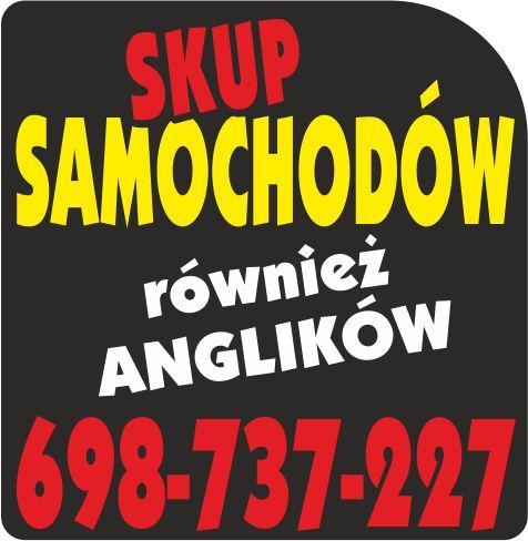 SKUP SAMOCHODÓW/SKUP AUT Otwock I OKOLICE 698-737-227