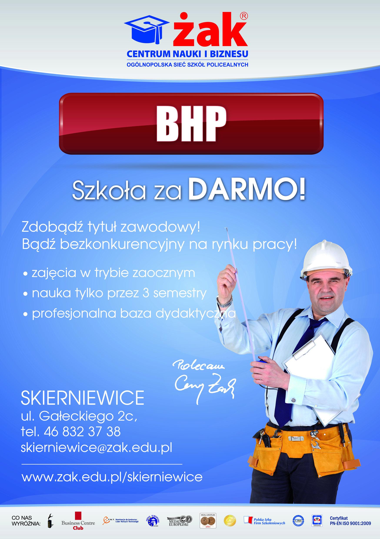 Instruktor BHP-kwalifikacje dla każdego.