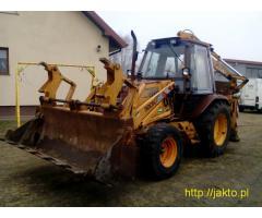 Case 580K, Koparko-ładowarka