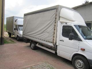 Samochody do 2 ton , 8 paletowy ,usługi krajowe,zagraniczne,faktura vat . Sosnowiec