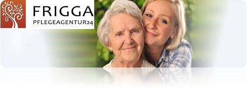 Frigga: Opiekunka seniorów Niemcy/ Legalne zatrudnienie!!! 67PM