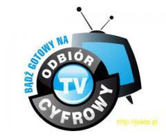Montaż anten TV(DVB-T) i TV-SAT, NC+, Cyfrowy Polsat, Orange, Warszawa, Ursynów, Piaseczno