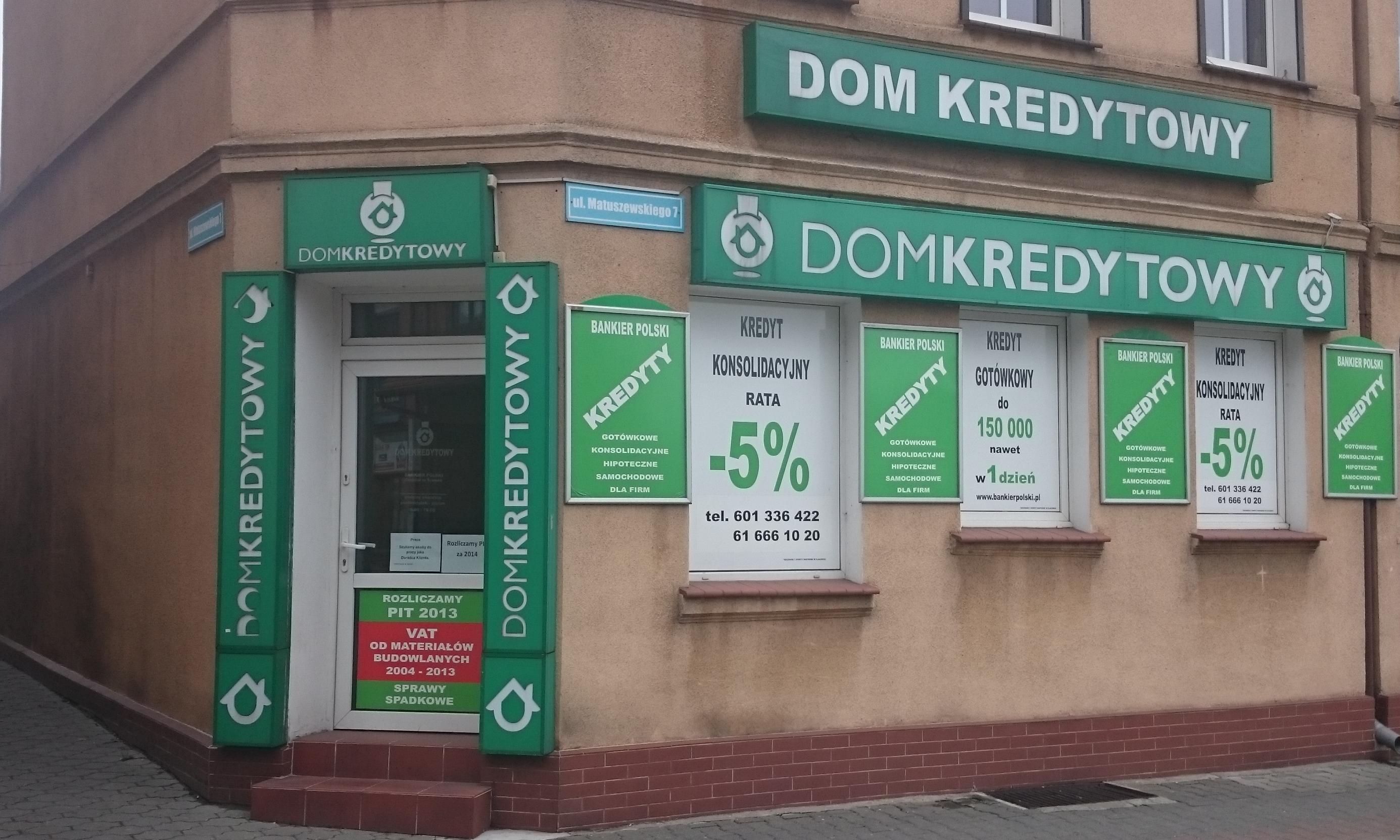 A u nas kredyt z najniższym oprocentowaniem w mieście!!!