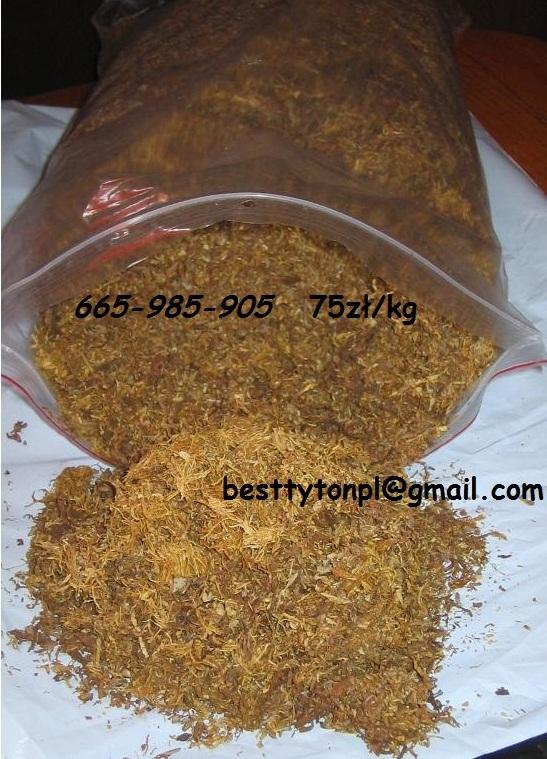 tytoń do bezpośredniego nabijania w gilzy papierosowe nie powtarzalny smak i aromat