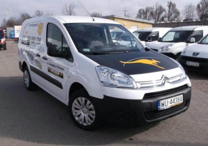WYNAJEM Citroen Berlingo Long oraz Peugeot Partner Long