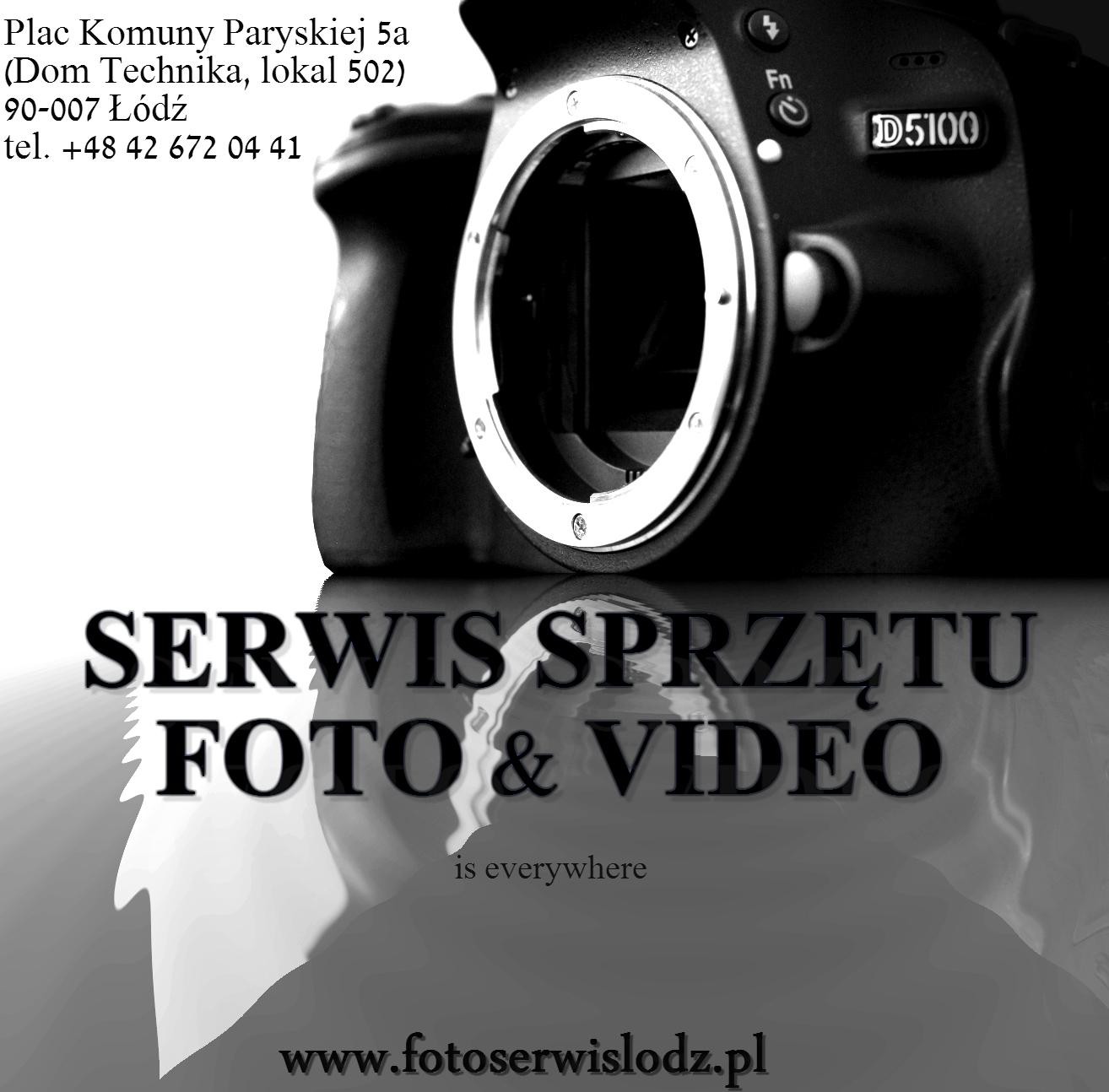 Naprawa sprzętu fotograficznego Łódź