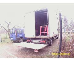 Tani transport - kontener z windą samowyładowczą