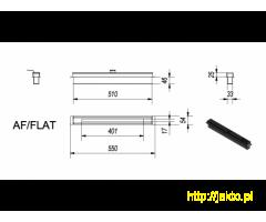 Biokominek Delta Flat - super płaski