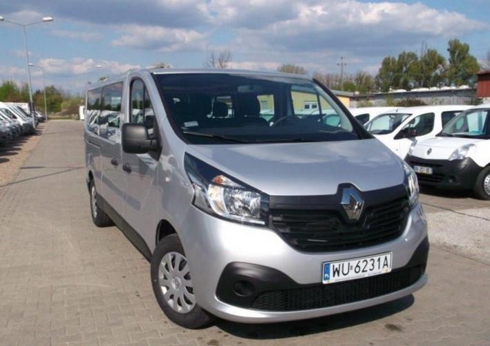 Do wynajęcia nowe busy 9 - osobowe Renault Trafic i Opel Vivaro
