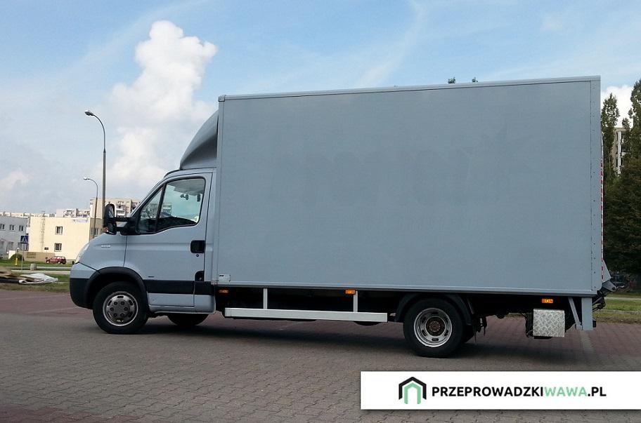 Przeprowadzki / Transport / Winda / Warszawa - Polska 24h
