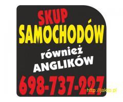 SKUP SAMOCHODÓW ZA GOTÓWKĘ 698-737-227 WARSZAWA i OKOLICE