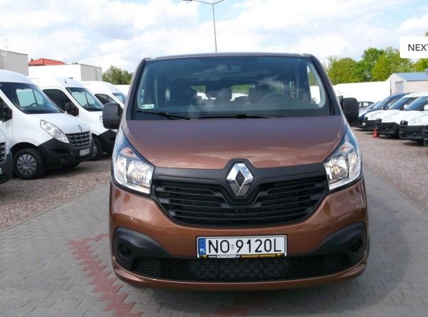 Renault Traffic- bus - wynajem