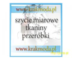 szycie na miarę, szycie miarowe Kraków