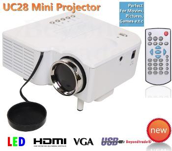 Projektor ,rzutnik LED HDMI USB MINI PILOT