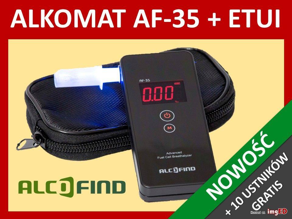 Alkomat elektrochemiczny AlcoFind AF-35 + GWARANCJA 6LAT