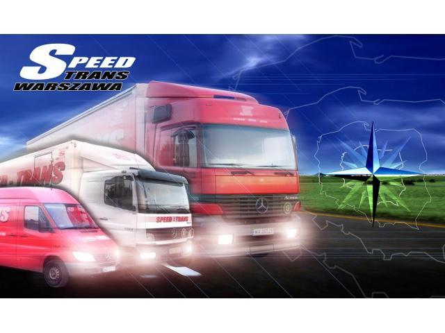 SPEED-TRANS WARSZAWA - usługi transportowe