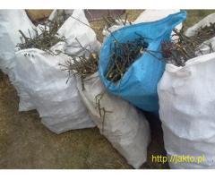 Spalinowy Rębak gałęzi, rozdrabniarka Makita, cięcie, wycinanie, rąbanie