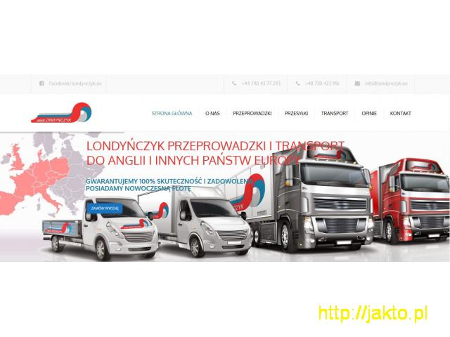Usługi transportu Polska Anglia Polska