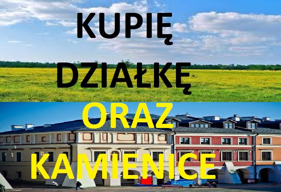 kupię działke oraz kamienice na terenie krakowa