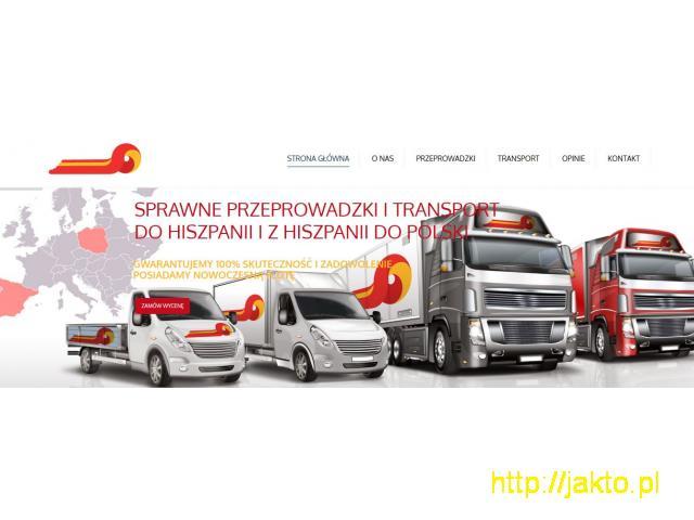 Transport z/do Polski/Hiszpanii