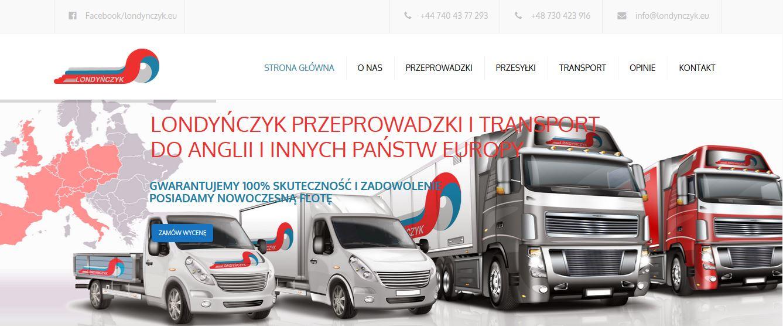 Transport do Anglii z Polski