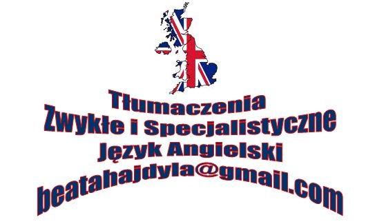 Tłumaczenia Język Angielski