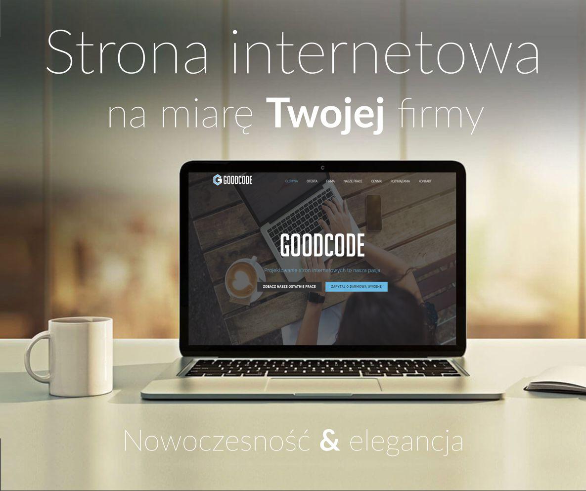 Projektowanie/tworzenie stron WWW/RWD/CMS - GoodCode