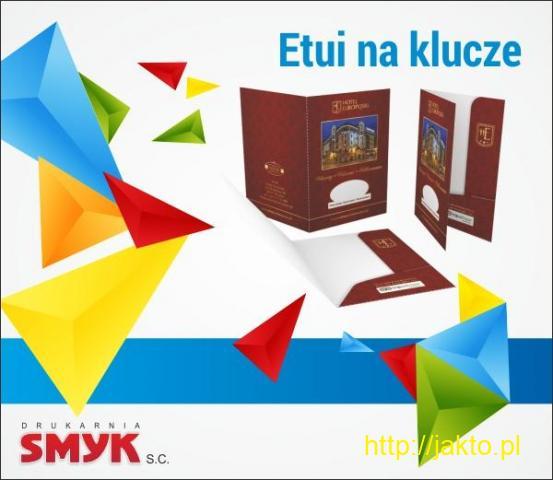 Etui na klucze elektroniczne (karty hotelowe) 5000 szt.