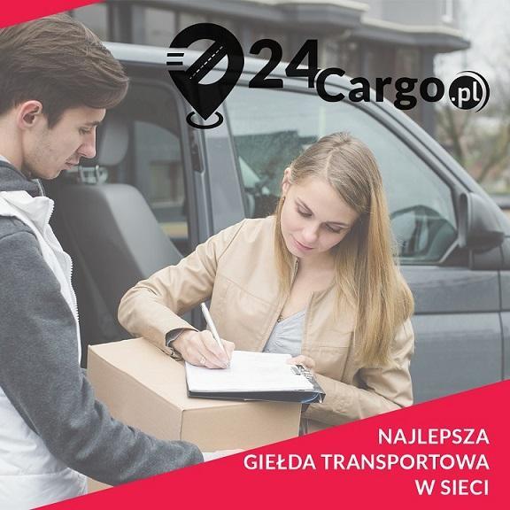 Zleć transport przesyłki za darmo! giełda 24Cargo.pl