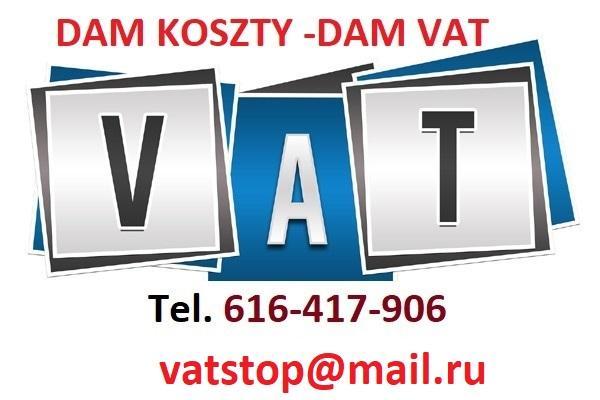 Dam koszty VAT , faktury